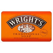 Wright's Coal Tar Traditional Soap (125g) - Pack of 2