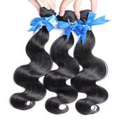 HOT Sell Hair Best Quality Brazilian Virgin Hair Extension Body Wave Mixed Length 30cm 36cm 41cm 3pcs.