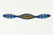 "Pink Pewter Authentic ""Yadi"" Royal Blue Stretchband"