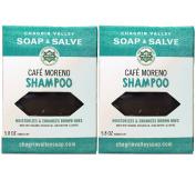 Chagrin Valley Soap & Salve - Organic Natural Shampoo Bar - Café Moreno 2X Pack
