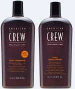 American Crew Daily Shampoo and Conditioner 1000ml