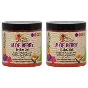 "Alikay Naturals Aloe Berry Styling Gel 240ml ""Pack of 5.1cm"
