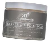Art Naturals Tea Tree Foot Soak Salt With Epsom Salt 590ml - Fights Athletes foot and Nail Fungus - Helps to Soften Calluses