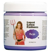 Ammonia Free Liquid Latex Body Paint 240ml Purple