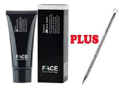 FACEAPEEL Deep Cleansing Black Mask Blackhead Removing Peel Off Mask For Face & Body 60g + Professional Blackhead Facial Tool