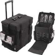 Sunrise C6024NLAB Black Trolley 1680D Nylon Case