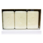 Pecksniffs Gardenia and White Peach Bar Soap Trio