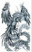 New design and hot selling Fiercely eagle realistic and fake temp tattoo stickers