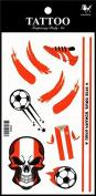 Sport tattoos 2016 European Football Championship Austria Flag tattoo stickers