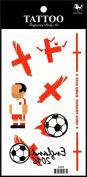 Sport tattoos 2016 European Football Championship England Flag tattoo stickers