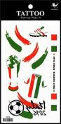 Sport tattoos 2016 European Football Championship Hungary Flag tattoo stickers
