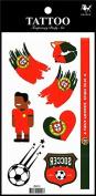 Sport tattoos 2016 European Football Championship Portugal Flag tattoo stickers