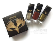 Cle de Peau Beaute Collection Bal Masque Nail Laquer Trio Full Size 8 mL / .27 FL. OZ. ( X 3 ) Limited Edition