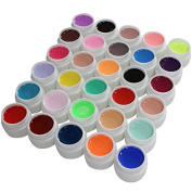 Warm Girl Professional Uv Colour Builder Gel False Tips Acrylic Nail Art Set for Beauty Salon Shop