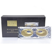 L'core Paris Eye Mask - Diamond Black Mamba Signature Collection 2016 - Size 1 unit, contains 8 masks, makes your face younger, silkier, smoother and healthier.