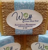 Patchouli and Rosemary Farm Fresh Goat Milk Soap