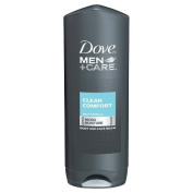 Dove Men+Care Clean Comfort Body and Face Wash with MICROMOISTURE 530ml