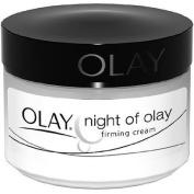 Olay Night Of Olay Firming Facial Moisturiser Cream, 60ml