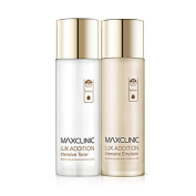 Maxclinic Lux Addition Intensive Toner 130ml,Emulsion 130ml,Anti-Wrinkle,Whitening,Double-effect, All Skin Type