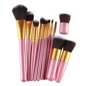 Creazy® 11Pcs Cosmetic Brush Makeup Brush Sets Kits Tools