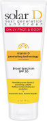 Solar D Sunscreen Face & Body SPF 30 Sunscreen, 120ml