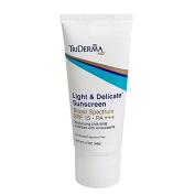 TriDerma® Light & DelicateTM Sunscreen Broad Spectrum SPF 15 PA+++