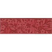 Floral Blocks Texture Mat - 1 pc