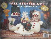 """All Stuffed Up"" Felt Folks Kit 61102 Snowman Family"