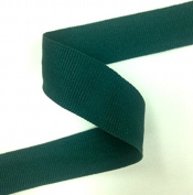2.5cm Wide Hunter Green Rayon Grosgrain Ribbon Binding Tape Wedding Party Decoration Craft Supply Selling For 1 Roll/30 yards