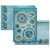 Hunkydory Flight of the Butterflies Jewelled Edition Sky Blue Topaz Flutter - Topper Set
