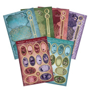 Hunkydory Flight of the Butterflies Jewelled Edition Duo-Spinner Premium Cards Card Kit