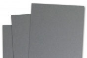 Blank Basis Grey 4x6 Flat Cards - 50 Pack
