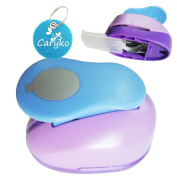 Caryko 2.5cm Clever Lever Craft Punch - Paper Cutting Shape
