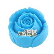 Nicole R1378 3D Rose Flower Silicone Soap Moulds Cake Decorating Mould Clay Crafts Form Mould