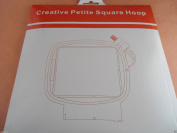 "Sew Tech Replacement PFAFF Creative 2.0/4.0, Creative Sensation, Creative Vision, Creative Performance 3"" x 3"" (80 x 80mm) Petite Square Hoop"
