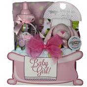 GreatArrivals Gift Baskets Baby Essentials, Girl