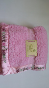 Bean Sprout I Love Mommy Baby Blanket, 80cm x 90cm