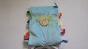 Snugly Baby Tag 80cm x 90cm Blanket, Blue