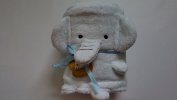 Jack & Friends Blue Elephant 80cm x 110cm Cuddy Baby Banklet