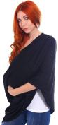 100% Organic Baby Safe Cotton Nursing Scarf / Breastfeeding Cover,Black