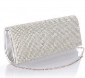 POPLife Crystal Clutch Bag Evening Shoulder Bag Wedding Prom Handbag