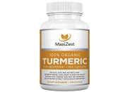 Organic Turmeric Curcumin with BioPerine®. Powerful anti-inflammatory joint health supplement and antioxidant complex for effective natural pain relief and ongoing joint support. 120 Veggie Capsules.