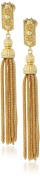 Ben-Amun Jewellery St Tropez Tassel Clip-On Earrings