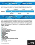 ICD-10 Snapshot 2017 Coding Cards ICD-10-PCs