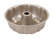 Art and Cook Non-Stick Carbon Steel Bundt Pan, 25cm , Champagne