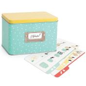 American Crafts 374097 Sweet Sugarbelle Recipe Card Tin
