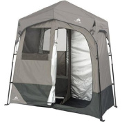 Ozark Trail 2-Room 2.1m x 1.1m Instant Shower/Utility Shelter Dark Grey