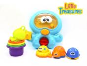 SEA DRIVER LINKING & SORTING SET - bath toy set . plus babies