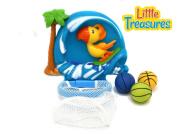 WHALE NET SCOOPER - Bathtub Bath Toy Set . Plus Kids