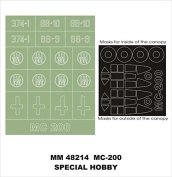 Montex Maxi Mask 1:48 MC 200 for Special Hobby 48033 Spraying Stencil #MM48214